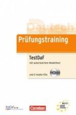 Prüfungstraining TestDaF mit autorisiertem Modelltest, m. 2 Audio-CDs