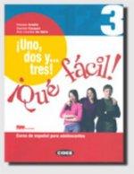 UNO, DOS Y TRES 3 LIBRO DEL ALUMNO + CD-ROM