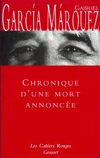 CHRONIQUE D'UNE MORT ANNONCÉE