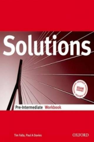 Solutions Pre-Intermediate: Workbook
