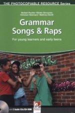 Grammar Songs & Raps (book , Audio CD , CD ROM)