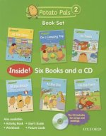 Potato Pals 2: Book Set with Audio CD