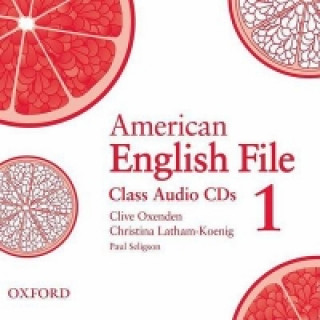 American English File Level 1: Class Audio CDs (3)