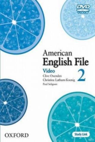 American English File Level 2: DVD