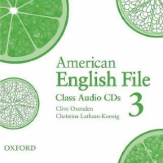 American English File Level 3: Class Audio CDs (3)