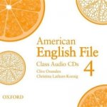 American English File Level 4: Class Audio CDs (3)