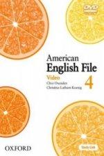 American English File Level 4: DVD