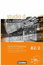 Studio d B2/2 Příručka učitele