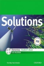 SOLUTIONS ELEMENTARY STUDENT'S BOOK + CD-ROM International Edition
