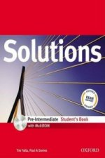 SOLUTIONS PRE-INTERMEDIATE STUDENT'S BOOK + CD-ROM International Edition
