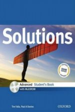 SOLUTIONS ADVANCED STUDENT'S BOOK + CD-ROM International Edition