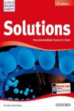 SOLUTIONS 2nd Edition PRE-INTERMEDIATE STUDENT'S BOOK International Edition