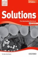 Solutions: Pre-Intermediate: Workbook and Audio CD Pack