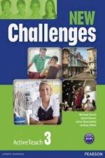 New Challenges 3 Active Teach