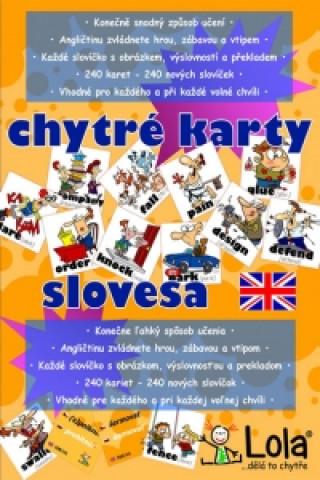 Chytré karty - Angličtina slovesa