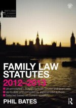 Family Law Statutes 2012-2013