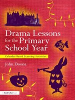 Drama Lessons for the Primary School Year