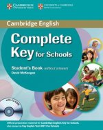 Complete Key for Schools Student's Book without Answers with