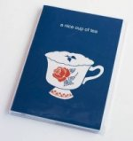Tea Time: Large Notebook