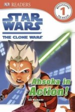 Star Wars the Clone Wars Ahsoka in Action!