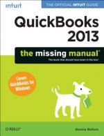 QuickBooks 2013: The Missing Manual