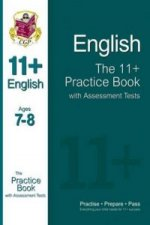 11+ English Practice Book with Assessment Tests Ages 7-8 (fo