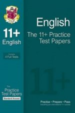 11+ English Practice Test Papers: Standard Answers