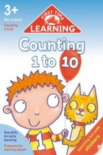 First Time Learning - Counting 1-10