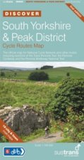 South Yorkshire & Peak District Cycle Routes Map