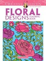 Creative Haven Floral Designs Coloring Book