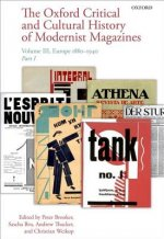 Oxford Critical and Cultural History of Modernist Magazines