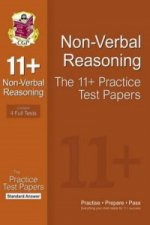11+ Non-Verbal Reasoning Practice Test Papers: Standard Answ
