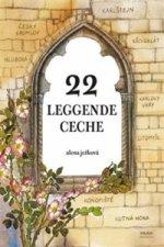 22 leggende ceche / 22 českých legend (italsky)