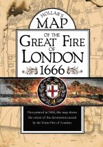Map Of The Great Fire Of London 1666