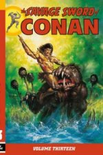 Savage Sword of Conan Volume 13
