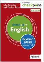 Cambridge Checkpoint English Revision Guide for the Cambridg