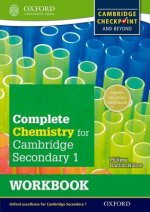 Complete Chemistry for Cambridge Lower Secondary Workbook