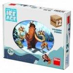 Doba ledová 4 - Dřevěné kostky 12 ks