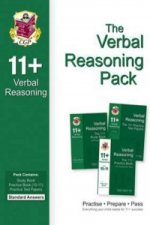 11+ Verbal Reasoning Bundle Pack - Standard Answers