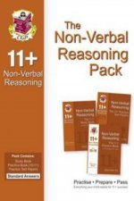 11+ Non-verbal Reasoning Bundle Pack - Standard Answers