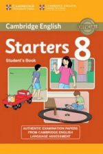 Cambridge English Young Learners 8 Starters Student's Book