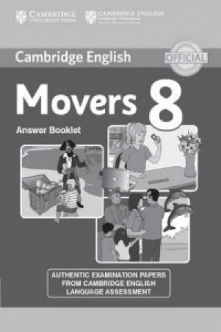 Cambridge English Young Learners 8 Movers Answer Booklet