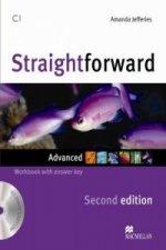 Straightforward 2nd Edition Advanced Level Workbook with key & CD