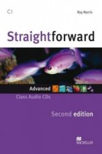 Straightforward 2nd Ed Adv Class Aud CD