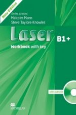 Laser 3rd edition B1+ Workbook with key & CD Pack