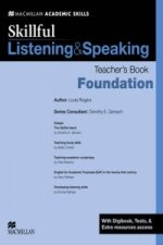Skillful Foundation Level Listening & Speaking Teacher's Book and Digibook Pack
