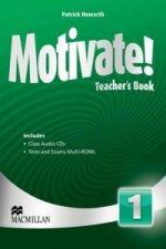 Motivate! Level 1 Teacher's Book + Class Audio + Test Pack