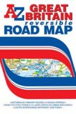 Great Britain Reversible Road Map