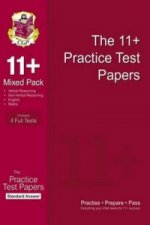 11+ Practice Test Papers Mixed Pack: Standard Answers