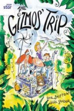 Rigby Star Guided 2 White Level: The Gizmo's Trip Pupil Book